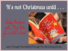 We don't have a lengthy list of fancy Christmas traditions in our family. In fact, for the past few years, we've spent our Decembers jugg. A Child Is Born, Read Aloud, Our Kids, Christmas Traditions, Homeschool, Teacher, Holidays, Reading, Children