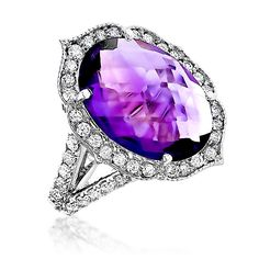 Alfa img - Showing > Gold with Amethyst Stone