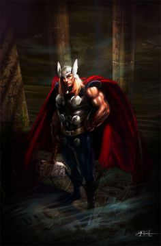 Thro artwork by rudyao  (Rudyao (2012). Inspiring Collection of Mighty Thor Artworks. Available: http://naldzgraphics.net/inspirations/inspiring-collection-of-mighty-thor-artworks/. Last accessed 6th Nov 2012)