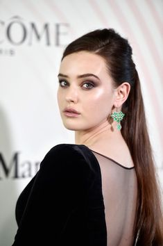 Katherine Langford Ponytail - Newest Looks - StyleBistro 10 Most Beautiful Women, Most Beautiful Faces, Hollywood Girls, Hollywood Actresses, Hollywood Stars, Cute Beauty, Real Beauty, India Beauty, Beautiful Actresses