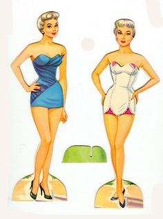 1956 Ann Sothern paper dolls / eBay