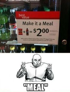 """""""Meal"""" Haha, exactly... :)  #Fitness #Funny #Humour"""