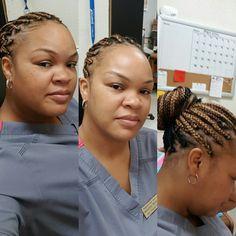 Protective Style #boxbraids #hilites #lowlites #blackgirlmagic