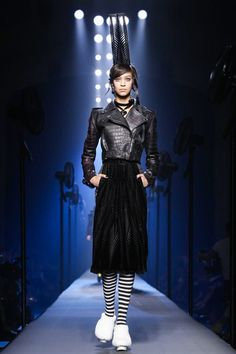 Jean Paul Gaultier Fashion Show Couture Collection Fall Winter 2015 in Paris