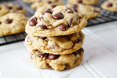 The ULTIMATE Chocolate Chip Cookies | Sunny Side Ups