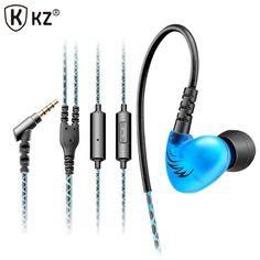 Original KZ C6 Supper Bass In-ear Earphones Headset Sport Running Headset For iPhone 6 for Samsung Galaxy s6 s7 XIAOMI MP3 MP4 #Affiliate