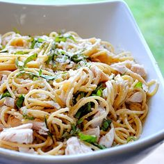 Lemon & Basil Rotisserie Chicken Pasta