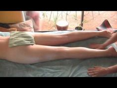 Thigh Massage & Legs How to Techniques; Full Body Spa Therapy Part 6