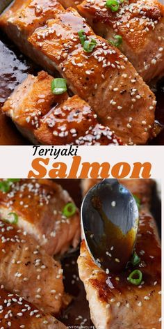 Get out of your dinner rut with this quick and easy teriyaki salmon recipe. All cooked in one pan, it's ready to serve in less than 20 minutes and the rich sauce is loaded with flavor.