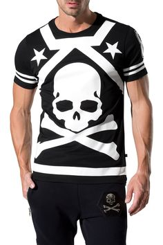 "PHILIPP PLEIN - Official Website | T-SHIRT ""A BAD ONE"" 