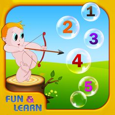 Fun and Learn: Teach Me Numbers is an interactive math app for early learners. This is a simple app developed to introduce children to the concepts of number recognition, sequencing, comparison, and counting. The free version of this app offers two activities: write numbers and sequence. Additional activities must be purchased to play.