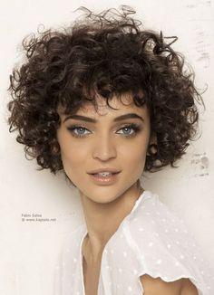 There is a common belief that it is hard to manage hairstyles for short curly ha.There is a common belief that it is hard to manage hairstyles for short curly hair. Women with curly hair are facing difficulties in controlling their frizzy hair Short Curly Hairstyles For Women, Haircuts For Curly Hair, 2015 Hairstyles, Curly Hair Cuts, Wavy Hair, Curly Hair Styles, Natural Hair Styles, Frizzy Hair, Curly Short