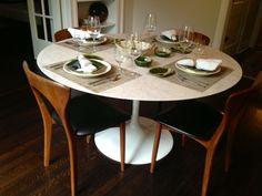 How About A Classic Eero Saarinen Tulip Table?