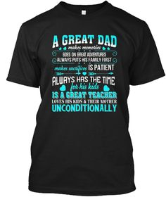 Meaning Shirt For Father's Day T Shirt Black T-Shirt Front