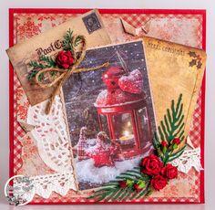 Vintage Christmas Line van Studio Light Christmas Card Pictures, Christmas Cards, Merry Christmas, Xmas, Scrapbook Cards, Scrapbooking, Vintage Cards, Vintage Stuff, Studio Lighting
