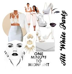 """""""Rock That All White When I'm Feeling Godly"""" by fifty-shades-of-slay on Polyvore"""