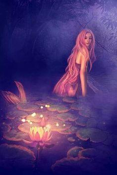 Mermaid and the Magic Lotus.