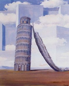 Memory of a journey, 1955 by Rene Magritte