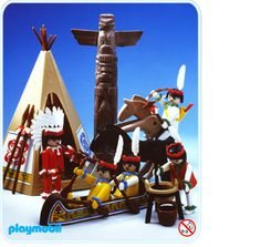 Indiens, Playmobil