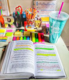 Colorful studying