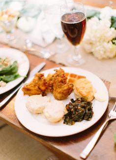 chicken + waffles | Loft Photographie #wedding