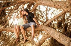 Engagement in marbella beach preboda en la playa