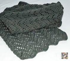 Wrap crochet handmade acrylic moogly gift idea di CreazioniArtEC