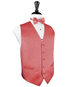 Red Venetian Tuxedo Vest