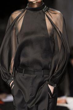 cool chic style fashion: Black..Super Chic Black