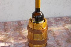 Τσιμεντένια Σαμπανιέρα Wine Rack, Greece, Bottle, Furniture, Home Decor, Greece Country, Decoration Home, Room Decor, Flask