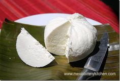 How to make Mexican Queso Fresco, few ingredients are needed to make your own cheese at home, easy to follow instructions with step by step pictures to guide for a delicious end result.