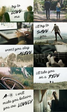 violet markey & theodore finch + aesthetic (all the bright places) ; lovely - twenty one pilots