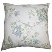 Found it at Wayfair - Ululani Floral Cotton Throw Pillow