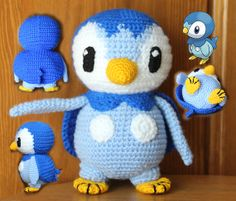 Crochet Pokemon Piplup