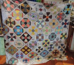 Morning Jo has finished the top of thequilt she is making for her grandson, with his other grandmother. Some lovely shared sewing by two quilters for a special lad. Jo has finished her …