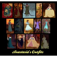 """""""Anastasia's Outfits"""" by tealtigress on Polyvore"""