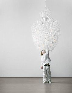 The Hollywood Conical Chandelier by Brand Van Egmond has been designed by William Brand, Annet van Egmond. Traveling through Africa, William and Annet were touched by the slenderness and pure beauty of the branches and trees scattered across the l. Interior Design Business, Interior Design Inspiration, Modern Lighting, Lighting Design, Entry Chandelier, Modern Entry, Contemporary Chandelier, Incandescent Bulbs, Wall Sconces