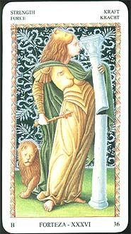 Mantegna Tarot (A 50 card 15th century divination deck, not actually a Tarot)