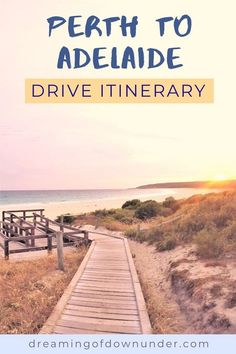 Plan an epic trip from Perth to Adelaide Australia with this road trip planner and drive itinerary. See the best attractions in Western Australia and South Australia, such as Esperance and the Nullarbor Plain and find out where to stay as well as costs. #travel #roadtrip #australia #travelaustralia #backpacking Roadtrip Australia, Australia Travel Guide, Australia Beach, Coast Australia, Western Australia, Preston Beach, Australian Road Trip, Adelaide South Australia, Road Trip Planner