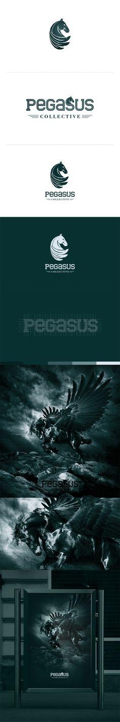 Pegasus Collective by Leszek Jędraszczak, via Behance