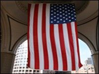 30x20\' Vertical U.S. Flag Banner Banner, Flag, Banner Stands, Science, Banners, Flags