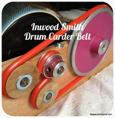 Inwood Smith // Drum Carder Belt