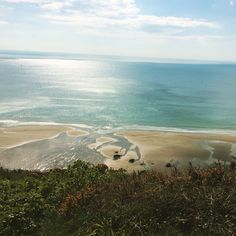 Whitsand bay in Cornwall Cornwall, Places Ive Been, Surfing, Mountains, Landscape, Beach, Water, Travel, Outdoor