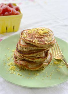 Recipe :: Buttermilk, Lemon, and Poppy Seed Quinoa Pancakes