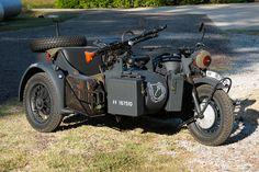 1942 BMW R75 with Sidecar #BMW, #R75, #WWII