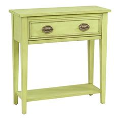 I pinned this Pistachio Pudding Console Table from the Pink & Green event at Joss and Main!