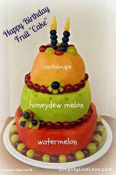 Yummy!  My kind of cake!