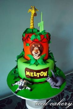 Melton's Madagascar Cake - Cake by Iced Cakery