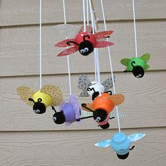 Egg Carton Buggy Mobile | Crafts | Spoonful