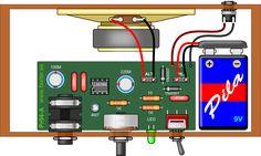 Como hacer 3 tipos de mini amplificadores                                                                                                                                                                                 Más